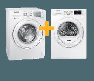 Samsung Wasmachine  + Wasdroger 7 kg