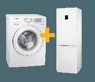 Samsung 7 kg Wasmachine + Koelvriescombinatie
