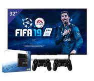 Sony 32 inch Full HD LED TV + PlayStation 4