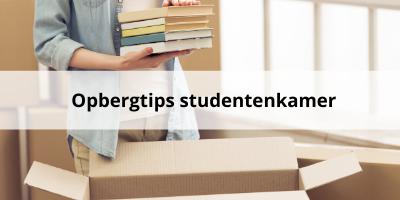 Slimme opbergtips voor je studentenkamer