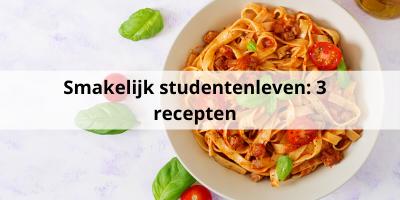 Smakelijk studentenleven: 3 gerechten om mee te geven