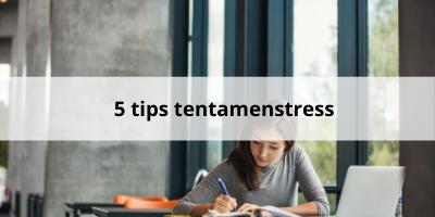 5 megahandige tips tegen tentamenstress